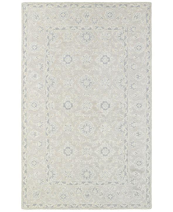 Oriental Weavers Manor 81203 Beige/Gray 8' x 10' Area Rug