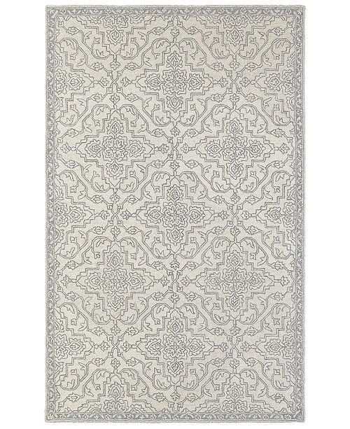 Oriental Weavers Manor 81206 Stone/Gray 8' x 10' Area Rug