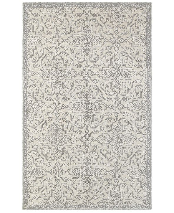Oriental Weavers Manor 81206 Stone/Gray 10' x 13' Area Rug