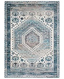 Varanasi VAR-2303 Medium Gray 2' x 3' Area Rug