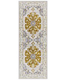 """Surya Silk Road SKR-2317 Olive 2'7"""" x 7'3"""" Runner Area Rug"""
