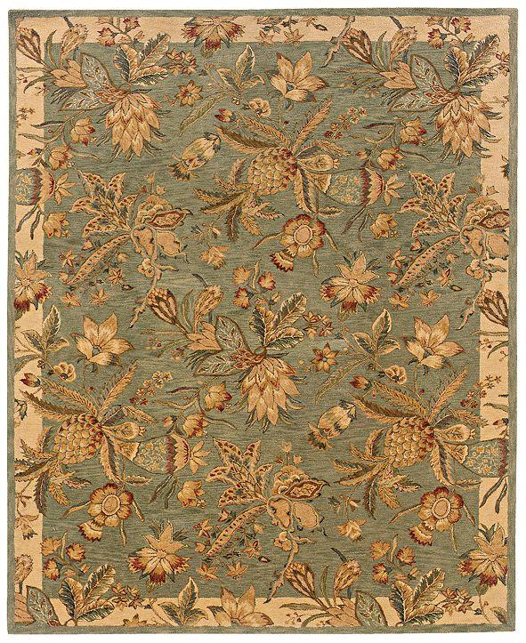 """Oriental Weavers Huntley 19103 Blue/Ivory 8'3"""" x 11'3"""" Area Rug"""