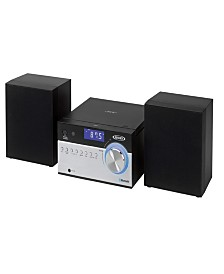 Bluetooth CD Music System with Digital AM-FM Stereo Receiver and Remote Control