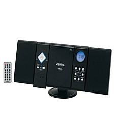 Wall Mountable CD System with Digital AM-FM Stereo Receiver and Remote Control