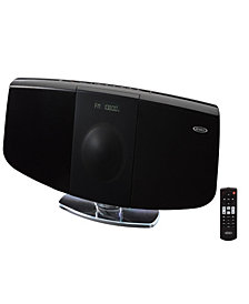 Wall Mountable Bluetooth Music System with CD