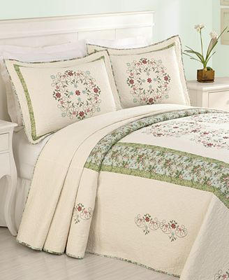 Adele King Bedspread. CLOSEOUT  Adele King Bedspread   Quilts   Bedspreads   Bed   Bath