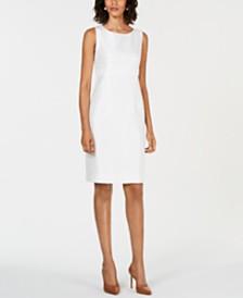 Kasper Petite Embellished Sheath Dress