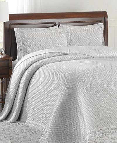 Woven Jacquard Twin Bedspread