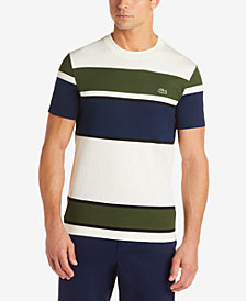 Lacoste Men's Colorblocked Striped T-Shirt
