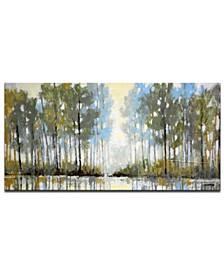 "'Water View III' Canvas Wall Art, 24x48"""