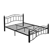 Bouvardia Queen Bed Frame, Quick Ship