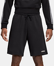 "adidas Essentials Men's Three-Stripe 10"" Fleece Shorts"