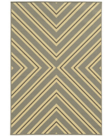 "Oriental Weavers Riviera 4589 7'10"" x 10'10"" Indoor/Outdoor Area Rug"