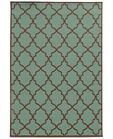 """Oriental Weavers Riviera 4770 6'7"""" x 9'6"""" Indoor/Outdoor Area Rug"""