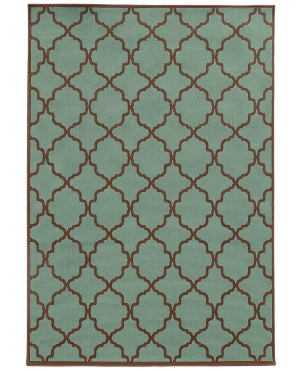 "Oriental Weavers Riviera 4770 2'5"" x 4'5"" Indoor/Outdoor Area Rug"