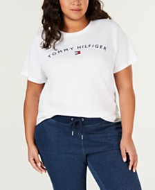 Tommy Hilfiger Sport Plus Size Logo Graphic T-Shirt