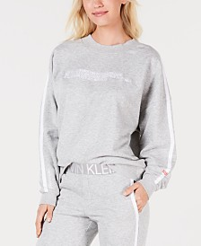 Calvin Klein Statement 1981 Long Sleeve Logo Sweatshirt