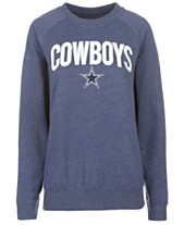 Authentic NFL Apparel Women s Dallas Cowboys Colba Crew Neck Pullover  Sweatshirt 1288167ce