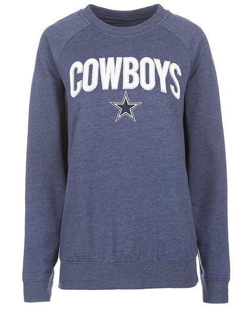 low priced 78c54 ce961 Authentic NFL Apparel Women's Dallas Cowboys Colba Crew Neck ...