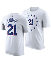 6e3dfaf4710 Nike Men s Joel Embiid Philadelphia 76ers Earned Edition Player T-Shirt