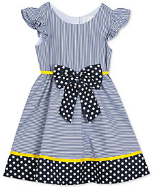 Rare Editions Toddler Girls Striped Dress