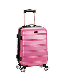 """Rockland Melbourne 20"""" Expandable ABS Carry On"""