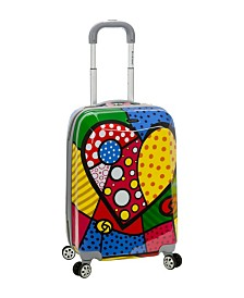"Rockland Heart Deco 20"" Hardside Carry-On"