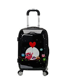 "Rockland Night Owls 20"" Hardside Carry-On"
