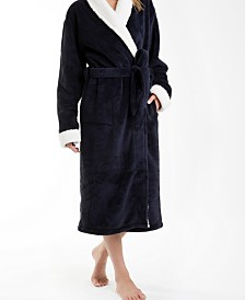 Keila Sherpa Fleece Robe, Small