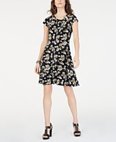 f4a64f0012 MICHAEL Michael Kors Floral-Print Cutout Dress