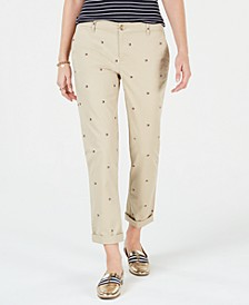 Logo Straight-Leg Pants