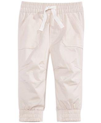Baby Boys Mixed Media Pants, Created for Macy's