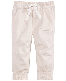 First Impressions Baby Boys Mixed Media Pants, Created for Macy's
