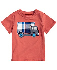 First Impressions Baby Boys Truck Graphic T-Shirt, Created for Macy's