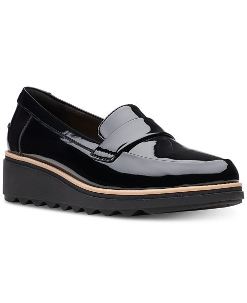 Clarks Collection Women's Sharon Gracie Platform Loafers
