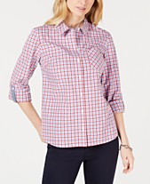 d8282e9f20e Tommy Hilfiger Cotton Roll-Tab Shirt
