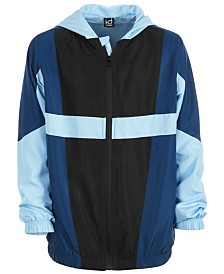 Ideology Big Boys Colorblocked Hooded Jacket, Created for Macy's