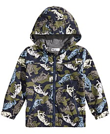 Toddler Boys Color-Change Raincoat, Created for Macy's