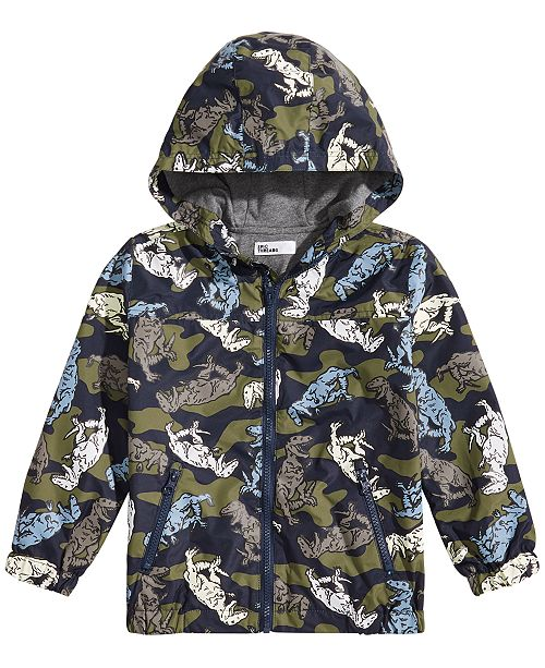 Epic Threads Toddler Boys Color-Change Raincoat, Created for Macy's
