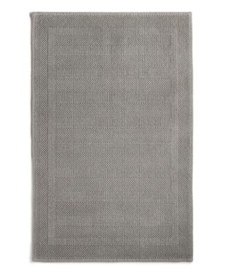 """Woven Stripe Cotton 18"""" x 26"""" Mat, Created for Macy's"""