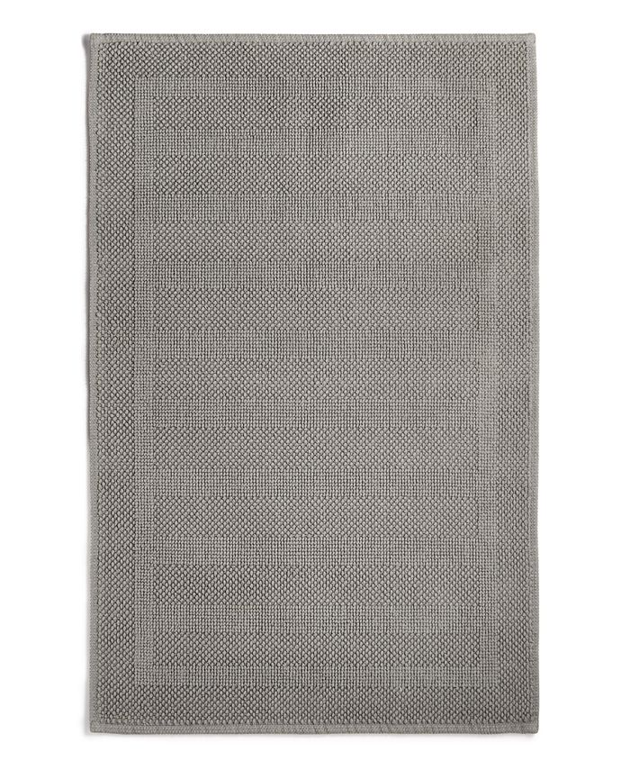 """Hotel Collection - Woven Stripe Cotton 30"""" x 72"""" Mat"""