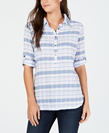 Columbia Summer Ease Cotton Popover Tunic