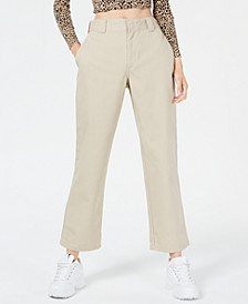 Juniors' Ankle-Length Work Pants
