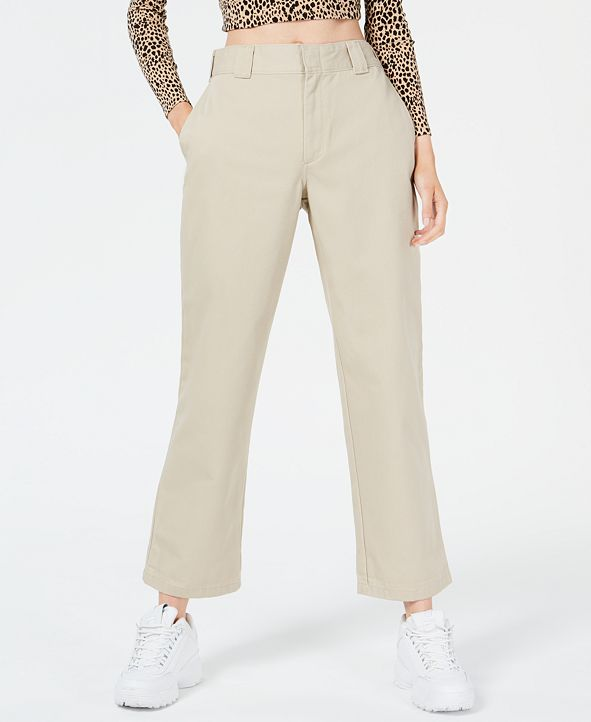 Dickies Juniors' Ankle-Length Work Pants