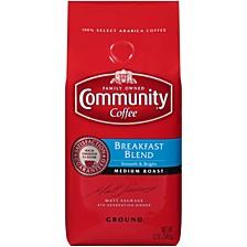 Breakfast Blend Medium Roast Premium Ground Coffee, 12 Oz - 6 Pack