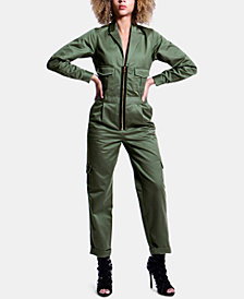 ARTISTIX Cotton Zip-Up Flightsuit