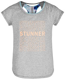 Ideology Big Girls Stunner Graphic T-Shirt, Created for Macy's