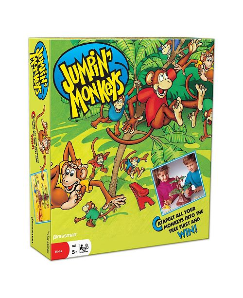 Pressman Toy Pressman - Jumpin' Monkeys