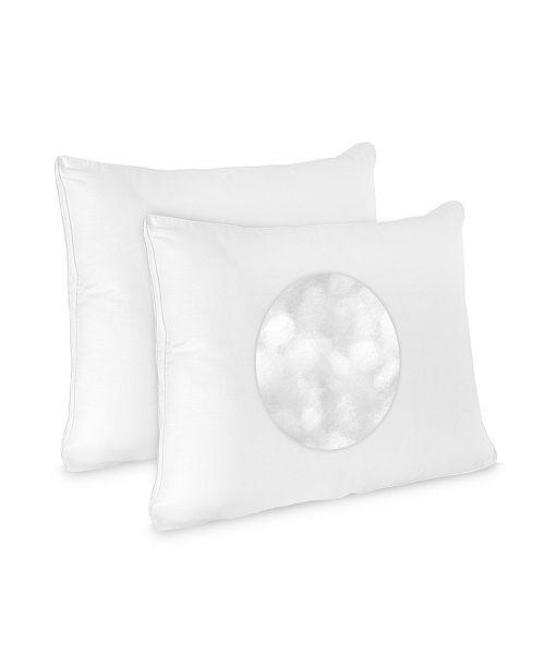SensorPEDIC Low Profile 2-Pack of Jumbo Pillows