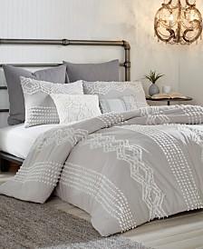 Peri Home Cut Geo 3-Pc. King Comforter Set